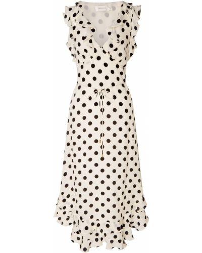 Платье миди в горошек шелковое Zimmermann