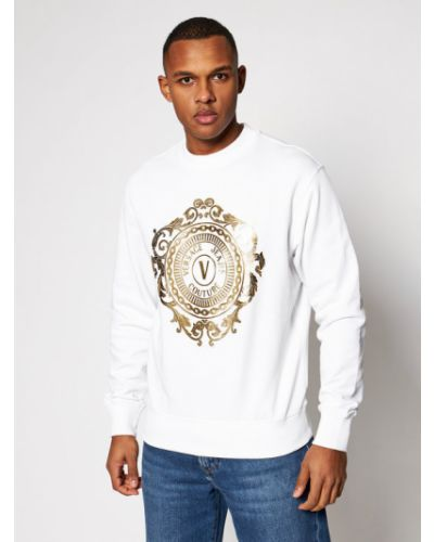 Biały dres Versace Jeans Couture