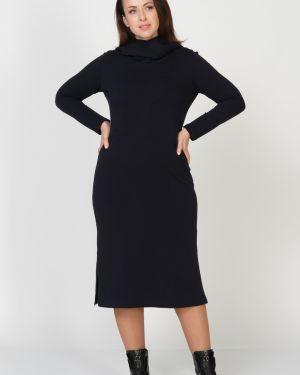 Платье с капюшоном с разрезами по бокам Amarti