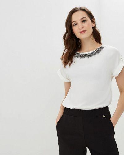 Белая блузка с коротким рукавом Dorothy Perkins