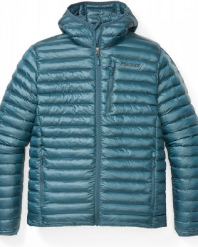 Куртка с капюшоном - зеленая Marmot