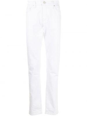 Прямые джинсы классические - белые True Religion