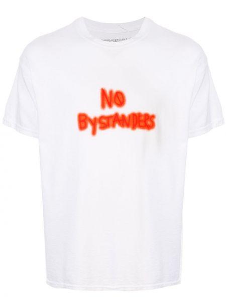 Хлопковая футболка - белая Travis Scott Astroworld