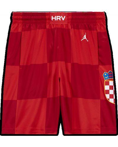 Баскетбольные красные шорты Nike