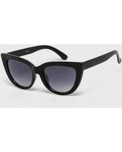 Солнцезащитные очки кошачий глаз черные Answear