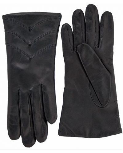 Кожаные перчатки черные Alpa Gloves