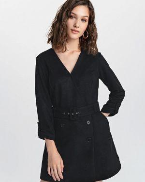 Комбинезон с шортами черный свободный Befree