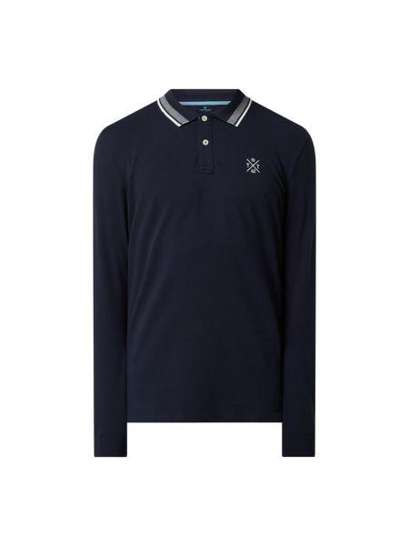 T-shirt bawełniana - niebieska Tom Tailor
