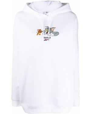 Bluza z kapturem z kapturem przeoczenie Reebok