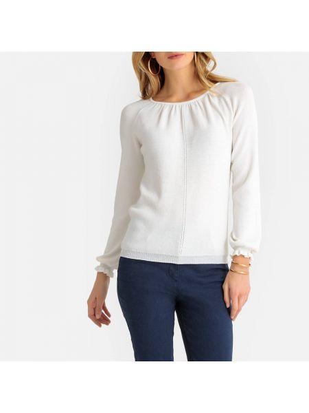 Пуловер с бантом из вискозы Anne Weyburn