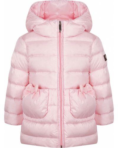 Розовое пальто Il Gufo