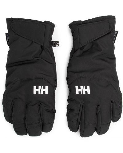 Czarne rękawiczki Helly Hansen