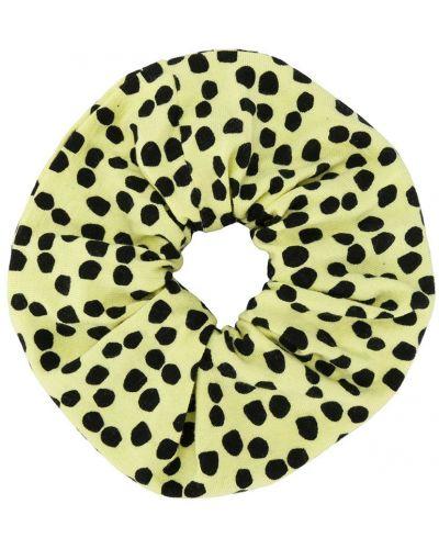 Желтая резинка для волос на резинке из вискозы Wauw Capow