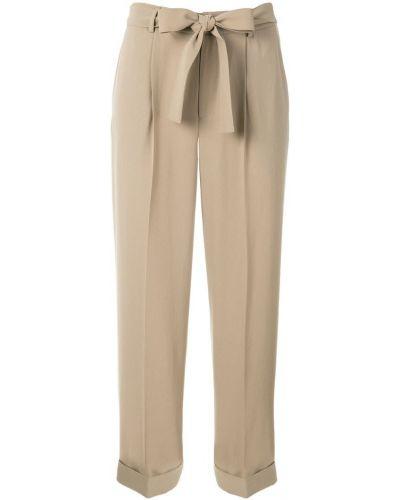 Укороченные брюки с поясом с завязками Knott