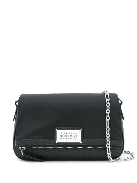 Czarny torebka crossbody srebrny Maison Margiela
