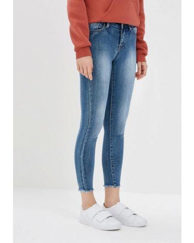Голубые джинсы-скинни Kiss Pink