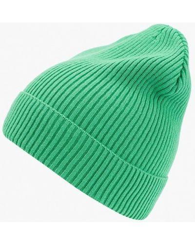 Зеленая шапка осенняя Forti Knitwear