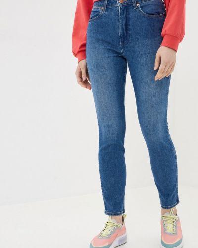 Прямые синие прямые джинсы Wrangler