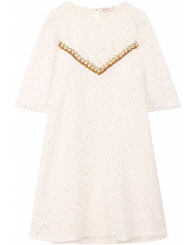 Платье мини в полоску на пуговицах Missoni