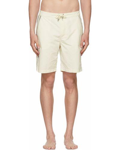 Boardshorty - białe Solid & Striped