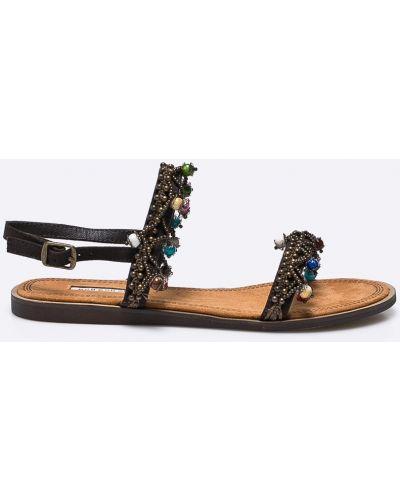 Коричневые сандалии Corina