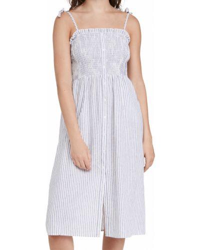 Льняное платье - белое Bb Dakota