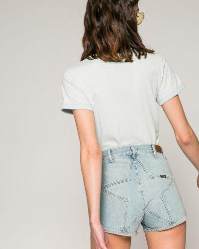 Джинсовые шорты с карманами на пуговицах Wrangler