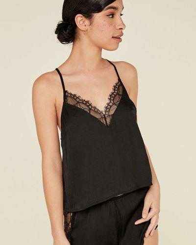 Пижама с рубашкой черная Undiz