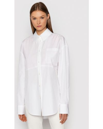 Biała bluzka oversize Msgm