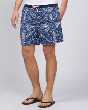 Пляжные шорты на резинке с карманами канцлер