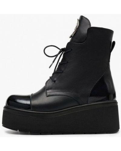 Черные турецкие ботинки Pierre Cardin