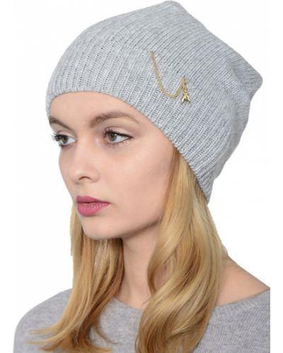 Кашемировая шапка - серая Patrizia Pepe