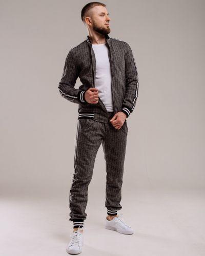 Шерстяной спортивный костюм - серый Rozetka