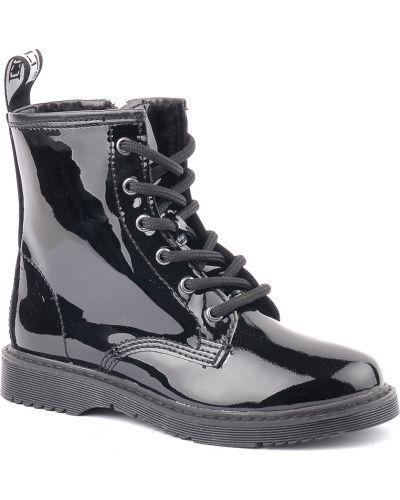 Ботинки лаковые черные Cult