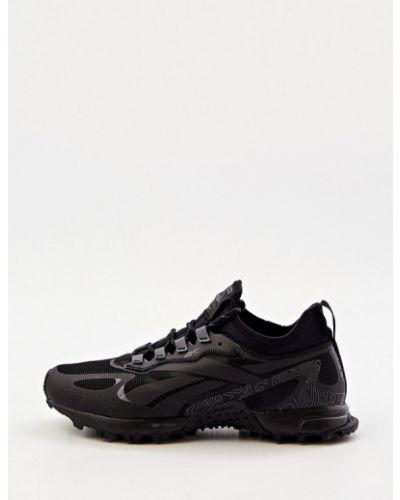 Черные резиновые кроссовки Reebok