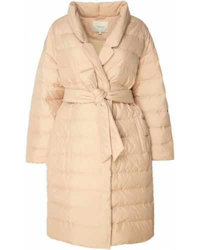 Пальто с поясом - бежевое Akhmadullina Dreams