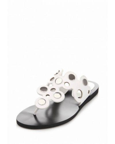 Черные сандалии замшевые Ditto