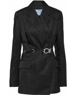 Куртка из полиамида - черная Prada