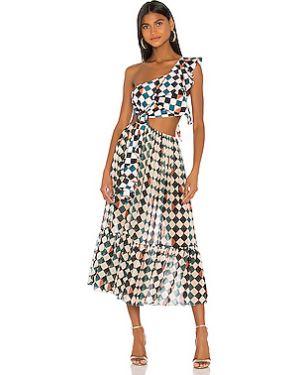 Платье миди на пуговицах пляжное Patbo