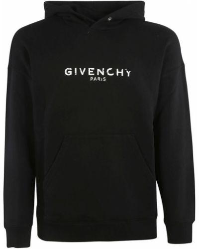 Czarna bluza z kapturem Givenchy