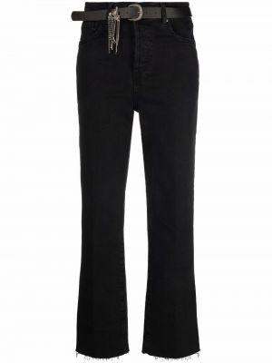 Прямые джинсы классические - черные Liu Jo