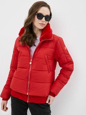 Утепленная красная куртка Zabaione