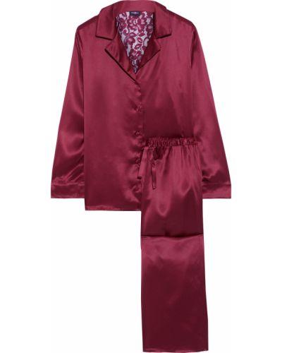 Satynowa piżama koronkowa Cosabella