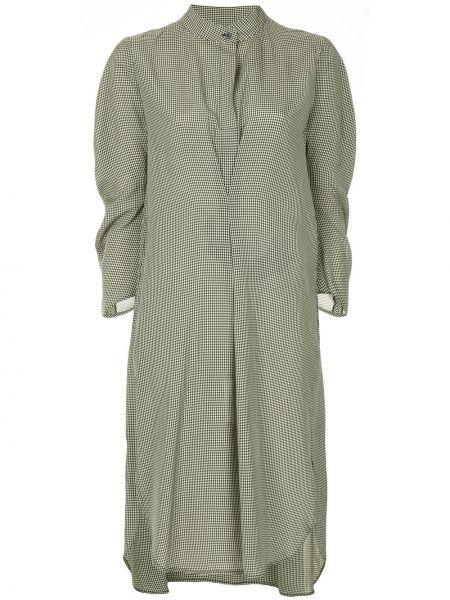 Платье макси длинное - белое Zero + Maria Cornejo