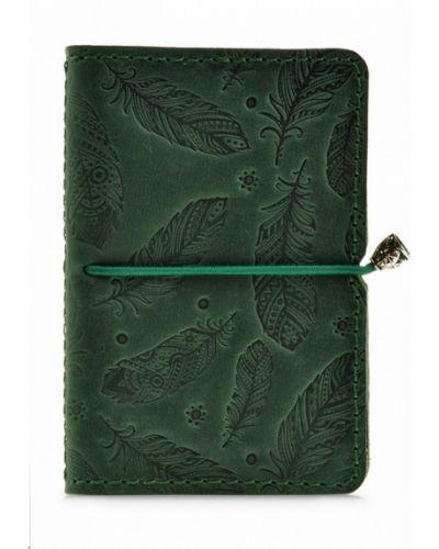 Зеленая визитница Blanknote