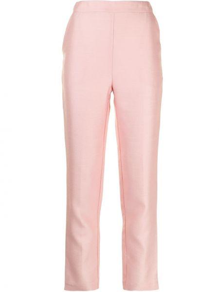 Шерстяные брюки - розовые Macgraw