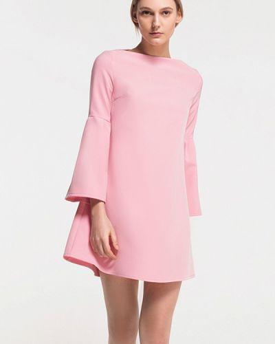 Платье весеннее розовое Grass