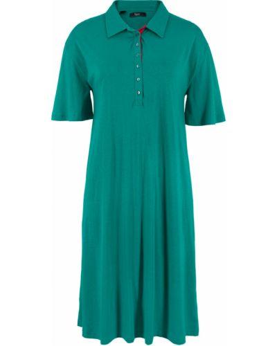 Платье с изумрудом платье-поло Bonprix