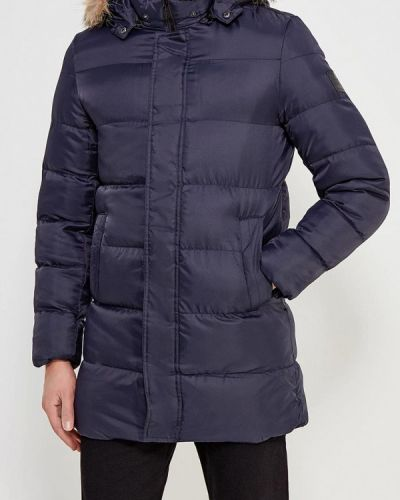 Зимняя куртка утепленная синяя Papermint