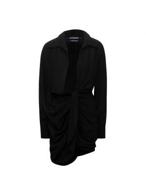 Шерстяное платье - черное Jacquemus